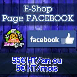 Shop pour Page Facebook uniquement