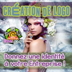 Créez un logo à votre image ... Et donnez une identité à votre Entreprise !