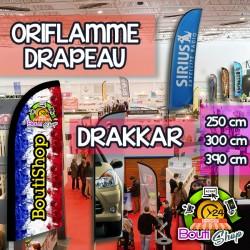 Drapeau de Signalisation - Drakkar