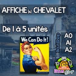Affiches pour Chevalet de Rue