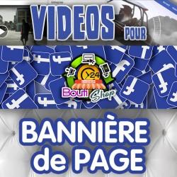 Bannière Vidéos pour Facebook