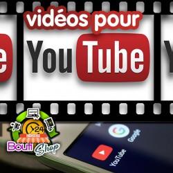 Vidéos pour YouTube
