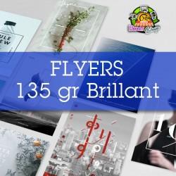 Flyers 135 gr Brillant