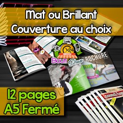 Brochures 12 pages A5