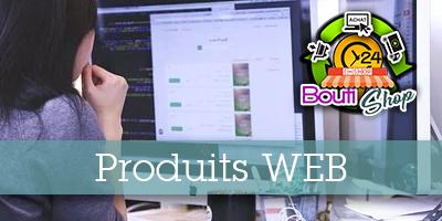 Nos produits Web BoutiShop !